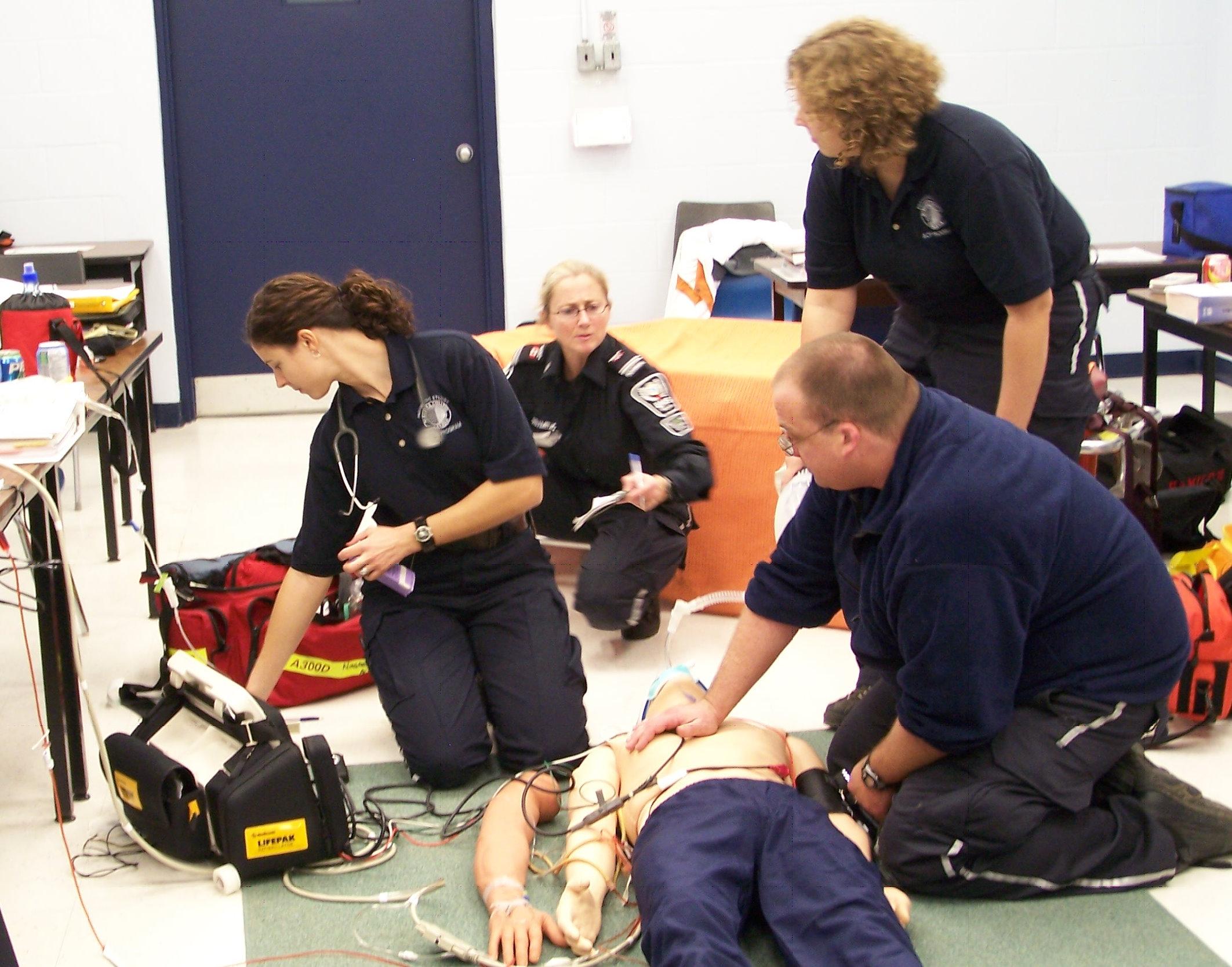 Paramedic dummywork